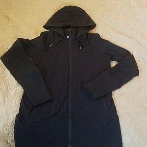 Lululemon black zip up tunic 6